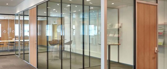 Acoustic Glass in Commercial Complex