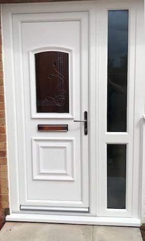 Daventry UVPC Completed Door