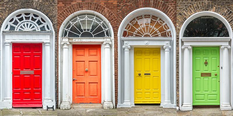 Various Door Colours