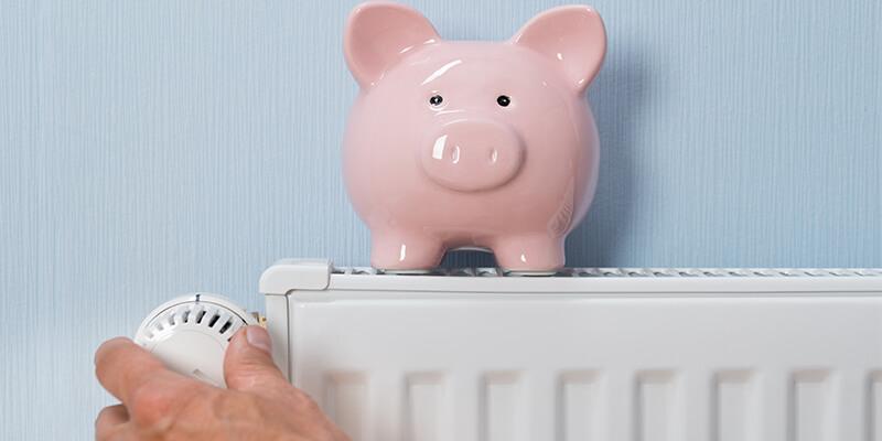 bank on radiator