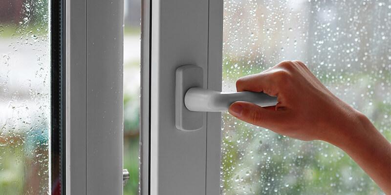 Closing Rainy Window