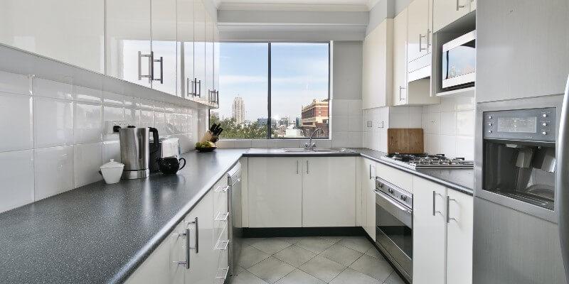 new grey kitchen