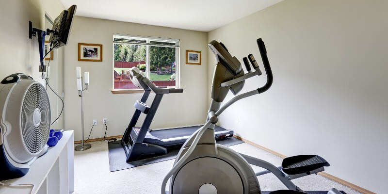 Gym In Spare Bedroom
